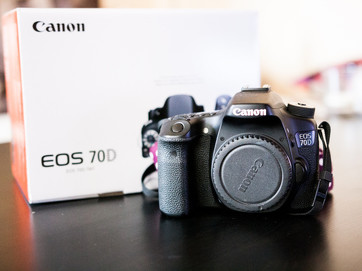 Canon eos 70D (záruka do 07/2017)