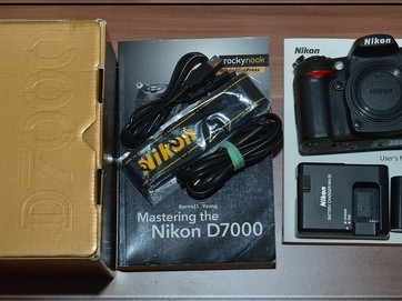 Nikon D7000 16MP FULL HDV**TOP JEN ̣̣?14500 Exp