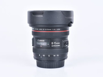 Canon EF 8-15 mm f/4,0 L USM fisheye