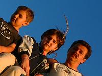 Autor s dětmi